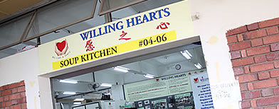 Willing Hearts relies only on volunteers to cook and deliver food to Singapore's needy 365 days a year.