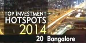 India's best investment destination: Bangalore