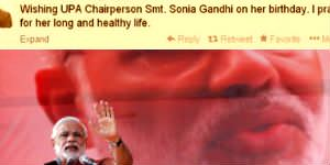 Look who wished Sonia