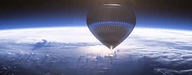 What if you could travel on a hot air balloon and see the curve of the Earth? Pretty soon, you can.