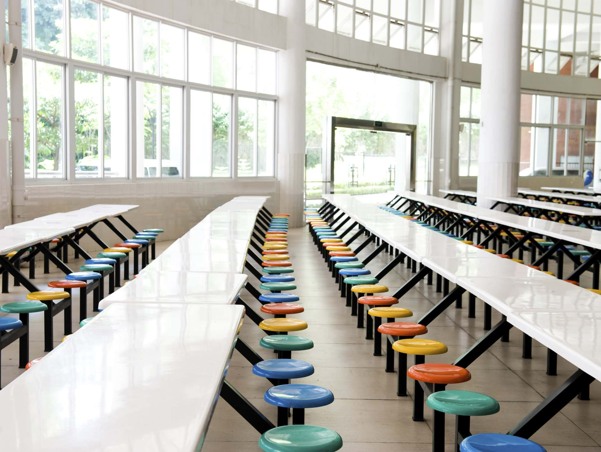 File photo of school cafeteria (Thinkstock)