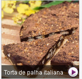 Torta de palha italina