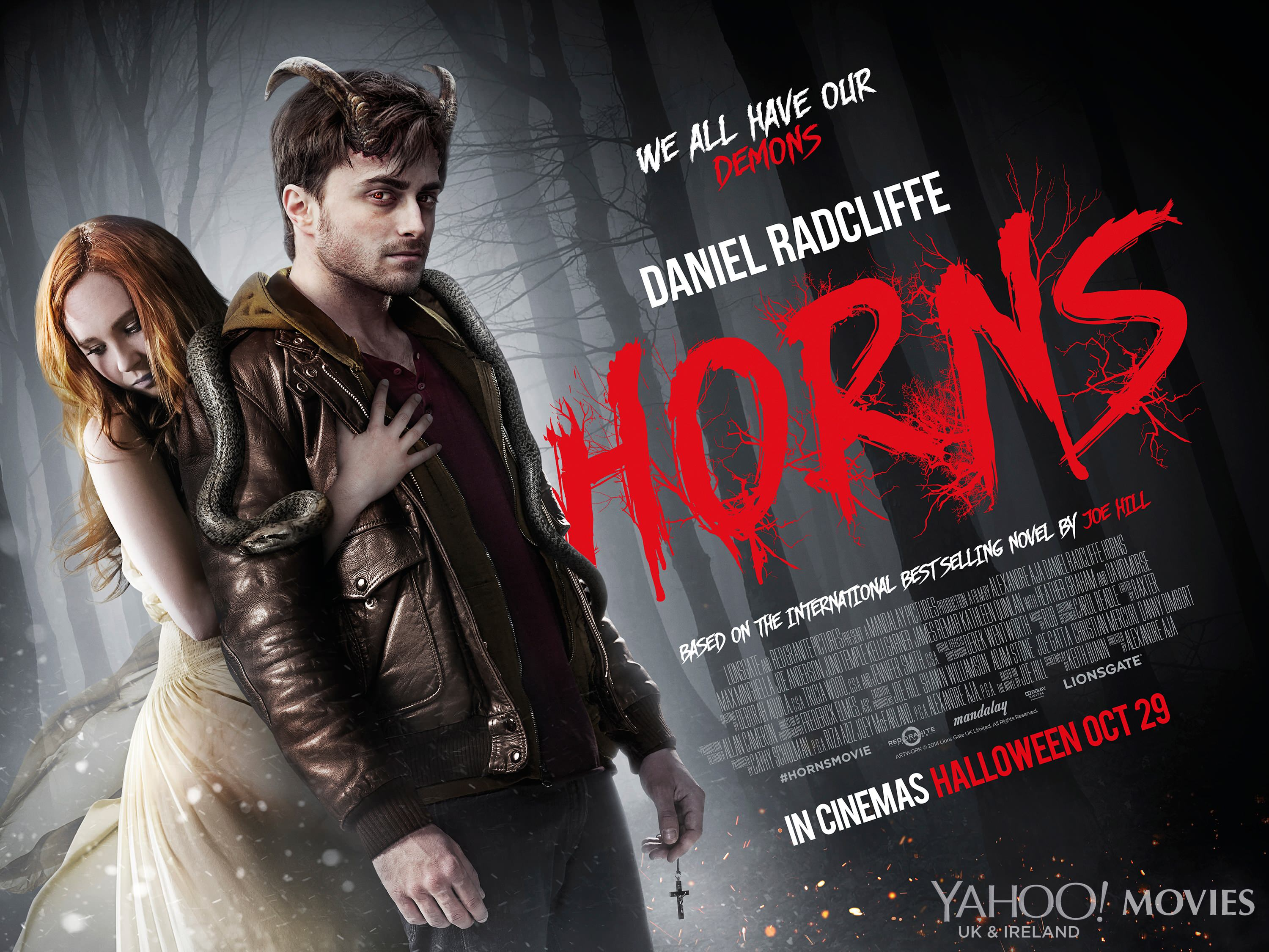 New Trailer & Poster For HORNS Horns Movie Poster