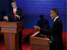 Candidates gesturing