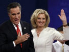 Romney and wife