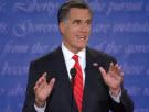 Romney at podium