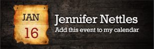 Jennifer Nettles - Add this event to my calendar