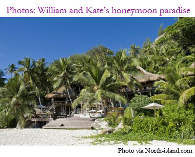 Click for more images of William and Kate's honeymoon spot