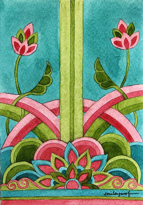 Sketch by Emila Yusof