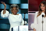 EXCLUSIVE: Rep Joyce Beatty Explains How She Came to Wear Same Style as Melania Trump at DNC
