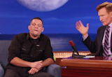 Conan Hosted An Awkward Moment Between Nate Diaz And Conor McGregor