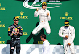 Nico Rosberg wins chaotic Belgian Grand Prix as Lewis Hamilton battles back to claim third