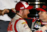 Dale Earnhardt Jr. finding positives in Jeff Gordon's advice, not rushing return