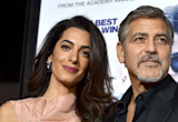 George and Amal Clooney Go for Stylish Motorcycle Ride in LA -- See the Pic!