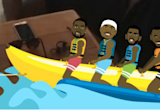 LeBron, DWade, Melo and Chris Paul are back at the banana boat