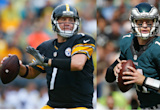 Head2Head: Ben Roethlisberger takes on younger version of himself in Carson Wentz