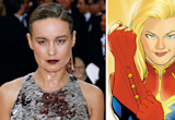 "Brie Larson Feared She'd Face 'Captain Marvel' Casting Backlash: It Was a ""Trust Fall Into the Internet"""