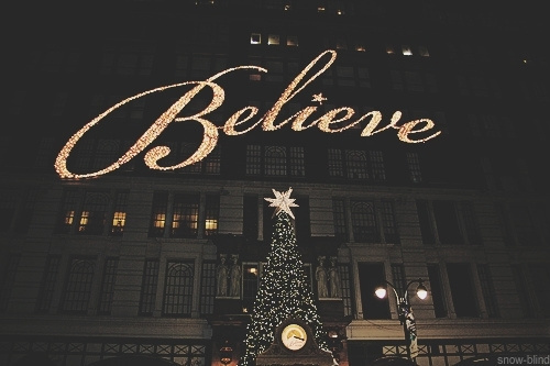 background - Believe Christmas Song