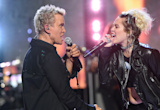 Miley Cyrus Joins Billy Idol Onstage for 'Rebel Yell' at iHeartRadio Music Festival -- Watch!