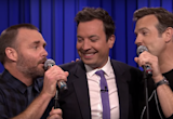 Hear Jason Sudeikis and Will Forte's delightful 'Can't Fight This Feeling' cover