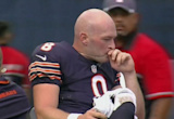 Bears backup QB Connor Shaw carted off field after nasty leg injury