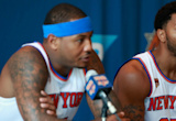 Knicks' Derrick Rose doesn't mind playing second fiddle to Carmelo Anthony