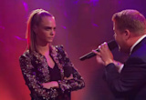 Cara Delevingne and Dave Franco Brutally Rip Apart James Corden in Drop the Mic Rap Battle