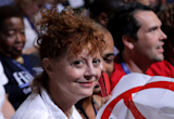 Susan Sarandon Calls Gif of Her Looking Miserable at DNC 'Accurate'
