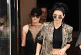 Kendall Jenner, Gigi Hadid Battle New York Heat Wave in All Black Outfits