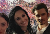 Orlando Bloom Adorably Supports Girlfriend Katy Perry at Democratic National Convention
