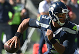 Seahawks' Russell Wilson sprains left knee in win over 49ers