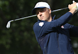 Ryder Cup 2016: Jordan Spieth all business in first practice round
