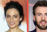 EXCLUSIVE: Jenny Slate Can't Stop Gushing Over 'Dream' Boyfriend Chris Evans as They Make Their Red Carpet Debut As a Couple