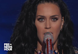 """Katy Perry Performs """"Rise,"""" """"Roar"""" at the Democratic Convention"""