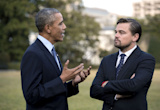 Barack Obama to meet Leonardo DiCaprio at White House to discuss climate change