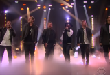 James Corden Becomes One Of The Backstreet Boys (For One Night Only)
