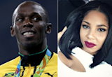 Usain Bolt's 'first lady' Kasi Bennett reacts to cheating controversy as Jamaican sprinter lands in London