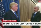 "Donald Trump Stands by Hillary Clinton ""Bigot"" Claim to Anderson Cooper"