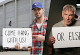 Ryan Gosling and Harrison Ford Are Giving Away a Chance To Visit Them on the 'Blade Runner' Set!