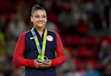 Laurie Hernandez Ironed Simone Biles's Clothes Before the Closing Ceremony