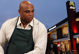 A Young Charles Barkley Apparently Used To Eat McDonald's While Riding A Stationary Bike