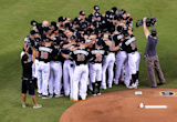 Dee Gordon Hits Leadoff Home Run, Miami Marlins Honor Jose Fernandez in First Game Since Pitcher's Death