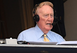 Vin Scully has no rival; Giants' broadcasters show that in meeting with Dodgers legend