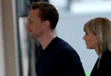 Taylor Swift and Tom Hiddleston Go on a PDA-Filled Dinner Date