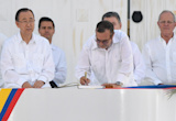 No more war: Colombia signs historic peace agreement with Farc guerrillas