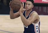 The Newest 'NBA 2K17' Trailer Highlights Ben Simmons' Awful Jumper And Some Insane Physicality