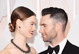 Say hello to Dusty Rose! Adam Levine shares first photo of baby girl with wife Behati Prinsloo