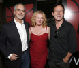 WIGS co-creator Jon Avnet, Virginia Madsen and Jason Isaacs attends the WIGS One Year Anniversary Party on Thursday May 2, 2013 in Culver City, CA. (Photo by Todd Williamson/Invision for FOX/AP ...