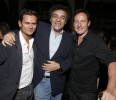 Jay Rodan, WIGS co-creator Rodrigo Garcia and Jason Isaacs attend the WIGS One Year Anniversary Party on Thursday, May 2, 2013 in Culver City, CA. (Photo by Todd Williamson/Invision for FOX/AP Images)
