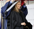Photographer Annie Leibovitz receives honorary degree at Ohio State University in Columbus